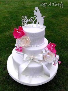 svadobná, tortyodmamy.sk, wedding cake, Autorka Marcela