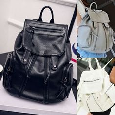 365Z08 Black Grey White Material: Kulit PU Berat: 800g  Ukuran: P28 L15 T37  Harga: Rp.191000  #beautiful #fashion #instafashion #purse #shopping #stylish #girliaproject #girliafashionstore #tasimportmurah #tas #fashionaddict #tasfashion #grosirtasmurah #tasbatammurah #taskorea #tasbranded #tasmurmer
