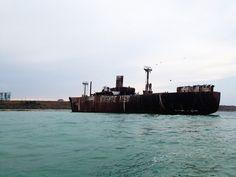 Costinesti Wreck. #usr #wreck #costinesti #blacksea #romania Black Sea, San Francisco Skyline, New York Skyline, Pictures, Travel, Photos, Viajes, Destinations, Traveling