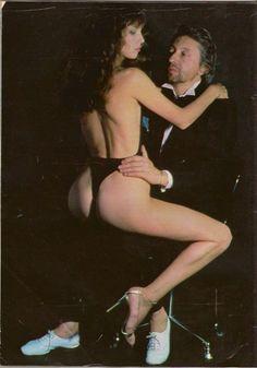 """Je t'aime... moi non plus."" Jane Birkin & Serge Gainsbourg photo: Helmut Newton, 1978"