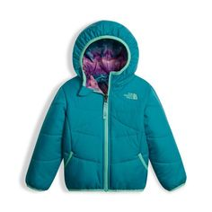 ef6ee9031025 The North Face Toddler Girls  Reversible Perrito Jacket