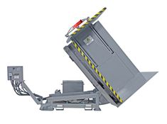 Increase productivity with the Pallet Inverter. Side Wall, Dividers, Pallets, Skate, Rest, Construction, Steel, Table, Building