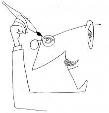 Risultati immagini per Saul Steinberg Sketches, Zine Design, Sketch Book, Cartoonist, Pictures To Draw, Saul, Illustration Art, Face Line Drawing, Saul Steinberg