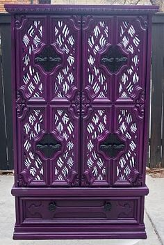 LOVE~LOVE this gorgeous vintage purple Armour..they basically took the 'older version' & just re~painted it purple..basically a nice DIY project!!!! ღ❤ღ
