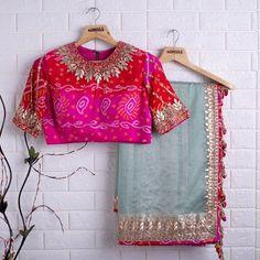 Sari Blouse Designs, Saree Blouse Patterns, Designer Blouse Patterns, Fancy Blouse Designs, Indian Dress Up, Saree Wearing Styles, Saree Floral, Stylish Blouse Design, Saree Trends