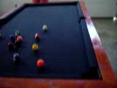 How to Build a Pool Table - Pool Table Plans - Do it Yourself - Homemade...