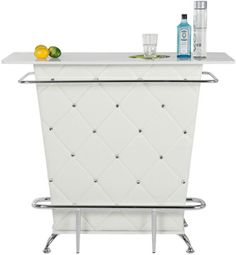 LOVE this bar it would look SOOOOO good in my house :) I dont have a lot of room so it would be perfect :)