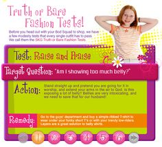 This is HORRIBLE! What an awful thing to teach young girls that they are responsible for the sexual urges of boys and men. Not to mention the message that their bodies are somehow shameful, or that their 'virtue' can be 'worn out' simply by exposing skin. These messages stay with you for the rest of your life, leading to self-loathing, anxiety and various body-image issues.
