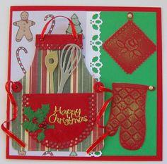 Christmas Apron Card