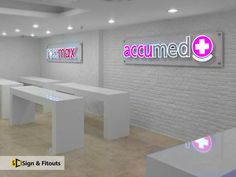 Illuminated Signs - Sign And Fitouts Illuminated Signs, Cube, Design