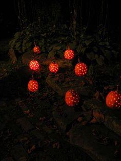 Perforated pumpkins
