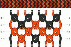 Friendship Bracelet Pattern #3308