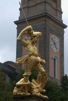 St.Georg, Schutzpatron der Stadt Eisenach