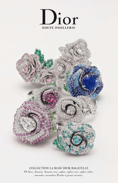 Dior Joaillerie Rings | Dior. La Rose Dior Bagatelle Collection…