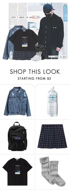 """Onew: all i want is you. all i need is you."" by yxing ❤ liked on Polyvore featuring JanSport, Gap, adidas Originals, kpop, shinee, onew and yikes"