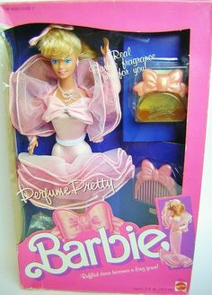 My friend Sara had this Barbie when we were in kindergarten