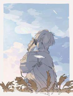 The end is coming. Art Manga, Anime Art Girl, Anime Guys, Aesthetic Anime, Aesthetic Art, Pretty Art, Cute Art, Images Aléatoires, Arte Peculiar