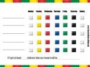Lego Charts - Reward Charts 4 Kids