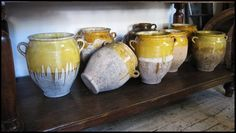 The Uptown Acorn: Collections {Antique French Confit Pots