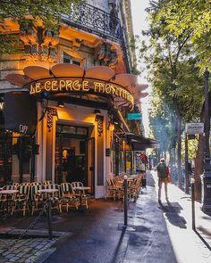 """""""parisian, escapes Corner Cafes of Paris ! """" """"parisian, escapes Corner Cafes of Paris ! Paris Travel, France Travel, France Europe, Thema Paris, Places To Travel, Places To Visit, Hello France, Parisian Cafe, Paris Street Cafe"""