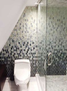 Mosaic Patterns, Toilet, Bathtub, Ceramics, Contemporary, Bathroom, Standing Bath, Ceramica, Washroom