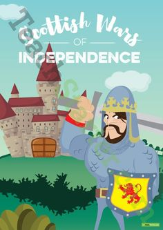 Teaching Resource: A 35 page resource pack of posters, worksheets and activities to use in your classroom when discussing Scottish History and the Wars of Independence.