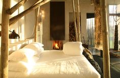 """I would love to stay in this gorgeous, eclectic hotel in Portugal! (""""Areias do Seixo"""" Hotel, Portugal, Spain)"""