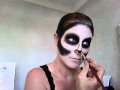 Skeleton Makeup lots of other stuff here too