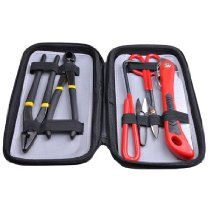 6 Piece Carbon Steel Bonsai Tool Kit Set with Bag