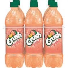 Crush Peach Soda - L Bottles Welches Fruit Snacks, Acacia Gum, Orange Soda, Corn Syrup, Serving Size, Watermelon, Crushes, Peach, Nutrition