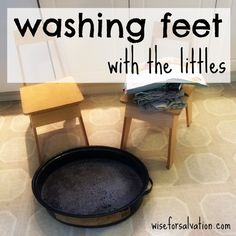 Washing feet (and a Jesus Storybook Bible reading plan for Easter)
