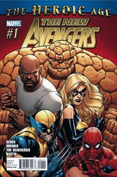 New Avengers #1 - Possession (Issue)