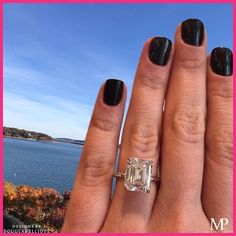 Make a statement 💎 featuring our DE Solitaire with a carat Emerald Cut diamond. Engagement Ring Buying Guide, Best Engagement Rings, Emerald Cut Diamonds, Diamond Cuts, Traditional Engagement Rings, 18k Rose Gold, Wedding Bands, Bling Bling, Jewelry
