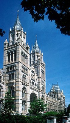 The Natural History Museum - South Kensington, London, UK