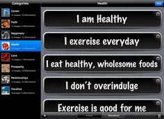 Affirmational - available now at the on iTunes, customize your motivation with this great and simple to use app.