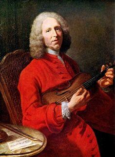 Jean-Philippe Rameau (1683–1764). Portrait by Jacques André Joseph Aved, 1728.