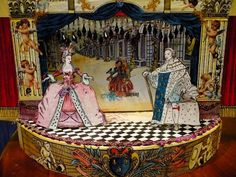 EnchantéSoirée: Marie Antoinette's Toy Theatre Scenes (revisited)
