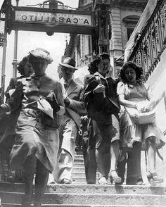 Subte A. Buenos Aires,  1940. AGN.