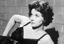 Susan Hayward in 1958 biopic about convicted murderess, Barbara Graham. Hayward, b. June 30, 1917, d. at age 57, March 14, 1975. Complications of brain cancer.  Speculation she may have been affected by RADIOACTIVE FALLOUT from atmospheric atomic bomb tests while making The Conqueror w/ John Wayne. Several production members, as well as Wayne himself, Agnes Moorehead, & Pedro Armendáriz, later succumbed to cancer & cancer-related illnesses…