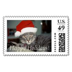 Ernie, Happy Holidays! Postage Stamps