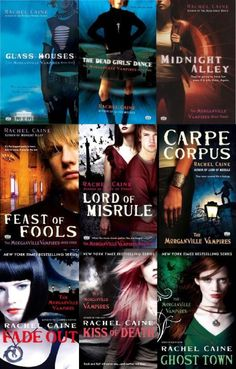 A little different than other YA vamp series out there, I like it a lot! The Morganville Vampires