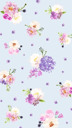 Our Cute & Free Spring Phone Wallpapers, Desktop Backgrounds & Zoom Backgrounds Are Here! Flower Background Wallpaper, Flower Phone Wallpaper, Cute Wallpaper For Phone, Cute Patterns Wallpaper, Cute Wallpaper Backgrounds, Flower Backgrounds, Pretty Wallpapers, Cool Wallpaper, Background Designs