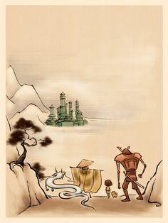 The Jade City by Kecky.deviantart.com on @deviantART