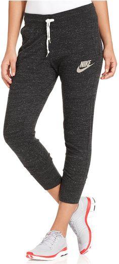 holiday detox: Nike Pants, Gym Vintage Capri Sweatpants