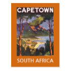 Cape Town South Africa postcard