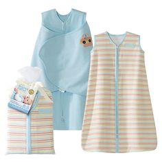 BLUE SleepSack & Swaddle Pack