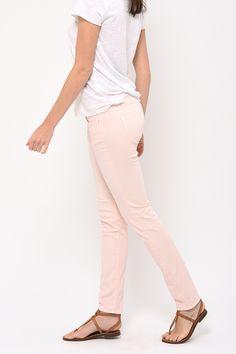 Light pink Cassis slim Cimarron jeans