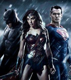 The Trinity - Batman, Wonder Woman & Superman, Batman V Superman: Dawn Of Justice