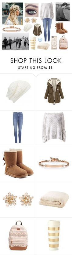 """Outfit during video shoot ""You And I"" of One Direction"" by louisericoul ❤ liked on Polyvore featuring Forever New, Paige Denim, Tuttle, HANIA by Anya Cole, UGG, Hoorsenbuhs, New Look, Rip Curl, Kate Spade and Casetify"
