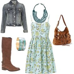 My Staple Summer Outfit! Created by ME! ...on Polyvore.